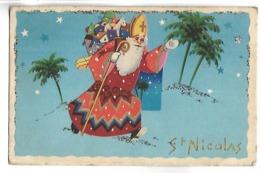 SAINT NICOLAS - IDA 639 - Carte Pailletée - Saint-Nicolas