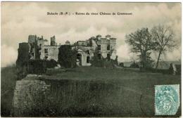 CPA Bidache 64. Ruines Du Vieux Château De Grammont - Bidache