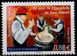 ANDORRE - Cinquantenaire De L'Escudella De Sant Antoni - French Andorra