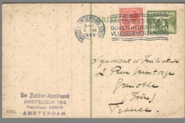 CPA Pays Bas - Amsterdam - Entier Postal - Amsterdam