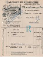 1946 / Rationnement / De La Salle 54 Nancy / Envoi De 960 Rations De Confiserie / Contre Tickets Et Avec Bon - 1939-45