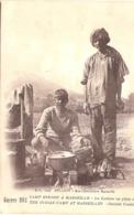 Cpa  Guerre 1914 Camp Hindou De Marseille Cuisine En Plein Air Ecrite 1915   -D- - War 1914-18