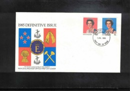 New Zealand 1985 Definitive Issue FDC - FDC