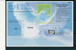 SUISSE  -    Is40  ,  20170802  ,   Reply Coupon Reponse - Stamped Stationery