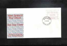 New Zealand 1986 ATM FDC - FDC