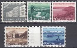 SCHWEIZ 613-617, Postfrisch **, Pro Patria: Seen Und Wasserläufe 1955 - Pro Patria