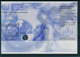 SUISSE / ZURICH   -   14.12.12  ,  Na34  ,  20120116  ,   Reply Coupon Reponse - Stamped Stationery