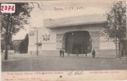 """(2371) Cartolina """" TORINO -GALLERIA VINICOLA """" ( TORINO ) - Formato PICCOLO -  Viaggiata 1902... - Places"""