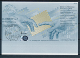 SUISSE / ZURICH   -   -1.-7.09  ,  Be32  ,  20090120  ,   Reply Coupon Reponse - Stamped Stationery