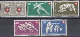 SCHWEIZ  545-549, Postfrisch **, Pro Patria: Sport 1950 - Pro Patria