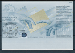 SUISSE / ZURICH   -   10.-6.06  ,  Be32  ,  20060629  ,   Reply Coupon Reponse - Stamped Stationery