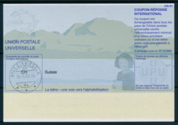 SUISSE / EINSIEDELN  -   18.-5.04  ,  Be31  ,  20030507  ,   Reply Coupon Reponse - Stamped Stationery