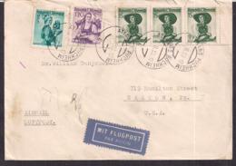 Österreich - 1953 - Brief -> USA - 1945-.... 2. Republik