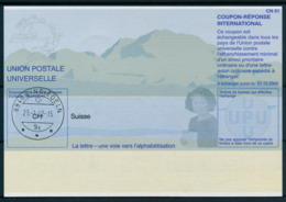 SUISSE / EINSIEDELN  -   29.-1.02  ,  Be31  ,  20011211  ,   Reply Coupon Reponse - Stamped Stationery
