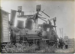 Locomotive P-O FORQUENOT 030-961  Accidentée, Lot De 3 Photos 165X120 (à Situer) - Materiale