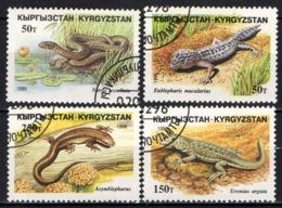 KIRGHIZSTAN - 1996 - RETTILI - USATI - Kirghizstan
