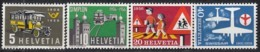 SCHWEIZ  623-626,  Postfrisch **, Jahresereignisse 1956 - Unused Stamps
