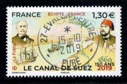 2019 CANAL DE SUEZ OBLITERE CACHET ROND 15-10-2019 #229# - Oblitérés