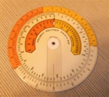REGLA DE CALCULO CIRCULAR ARISTO 603 CALCULADORA DE PORCENTAJES - Otras Colecciones
