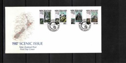 New Zealand 1987 Scenic Issue FDC - FDC
