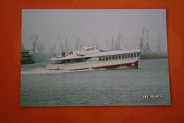 "Russia. ""RAKETA SHIP - Modern Postcard  -  Hydrofoil / Ship  - - Schiffe"