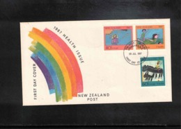 New Zealand 1987 Health Issue FDC - FDC