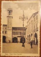 Rovigo - Piazza Vittorio Emanuele, Orologio- Animata - Viaggiata 1942 - Rovigo