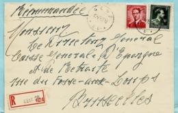 Agence/agentschap GENT 26 16/11/1965 Op Aanget. Zending Met N° 925 + 1007 - Cachets à étoiles