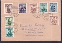 Österreich - 1956 - Brief - 1945-.... 2ème République