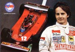 FERRARI Gilles VILLENEUVE Formule 1 - Grand Prix / F1