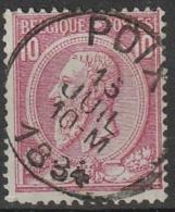 COB N° 46 Obl. POIX - 1884-1891 Léopold II