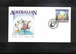 New Zealand 1988  Australian Bicentenary FDC - FDC