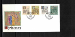 New Zealand 1988 Christmas FDC - FDC