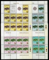 Malta 1972: Europa/CEPT - Flashes Of Light, 4 Small Sheets Of 10 ** MNH - Europa-CEPT