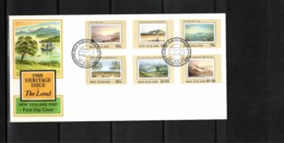 New Zealand 1988 Heritage Issue FDC - FDC