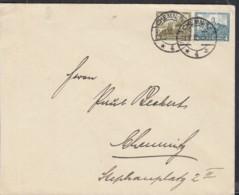 DR 474-475 MiF Auf Orts-Brief  Mit Stempel: Chemnitz 22.12.1932 - Alemania