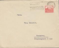 DR 476 EF Auf Brief Mit Stempel: Dresden 14.1.1933 - Duitsland