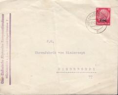 DR  Elsaß 7 EF, Auf Brief Mit Stempel: Mülhausen 17.12.1940 - Ocupación 1938 – 45