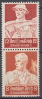 DR S 229, Postfrisch**,  Nothilfe: Berufsstände 1934 - Se-Tenant