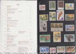 FINNLAND  Jahrbuch 1982, Postfrisch **, MiNr.  891-917 - Finland