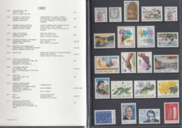 FINNLAND  Jahrbuch 1983, Postfrisch **, MiNr.  918-937 - Finland