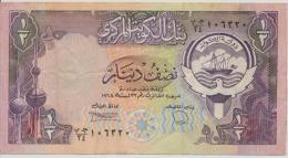 KUWAIT P. 12d 1/2 D 1991    VF/XF (10 Billets) - Kuwait
