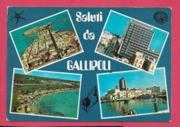 Gallipoli (LE) - Viaggiata - Italia