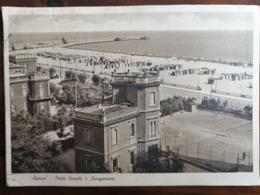 RIMINI - PORTO CANALE E LUNGOMARE, Viaggiata 1937 - Rimini