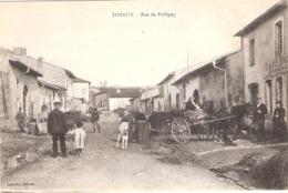 Cpa  TONNOY 54 Rue De Pulligny  Non Ecrite   -D- - Francia