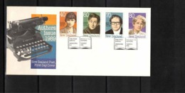 New Zealand 1989 Authors FDC - FDC