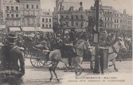 CPA Saint-Quentin - Mai 1910 - XXXVIme Fête Fédérale De Gymnastique (belle Scène) - Saint Quentin