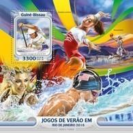 Guinea-Bissau, 2016. [gb16101] Olympics 2016 (s\s+bl) - Sommer 2016: Rio De Janeiro