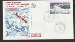 FDC TAAF  N° 91  981 25e Anniversaire De La Station Charcot - FDC