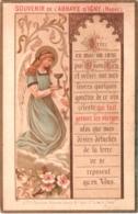 Souvenir De L'Abbaye Notre-Dame D'IGNY (Marne) - Créez En Moi Un Coeur Put O Mon Dieu Et Versez Sur Mes Lèvres ... TBE - Devotion Images